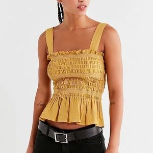NWT Urban Outfitters Smocked Cami